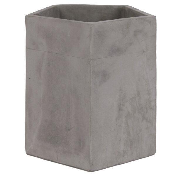 Craner Cement Pot Planter by 17 Stories