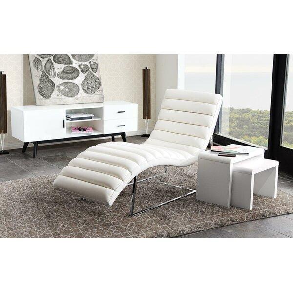 Eastleigh Chaise Lounge by Orren Ellis