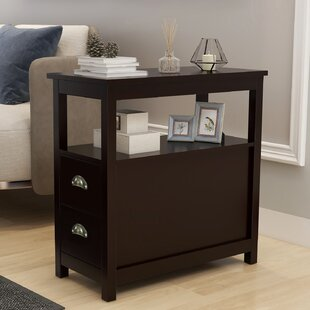 Ifra 2 - Drawer Nightstand in Brown by Red Barrel Studio®
