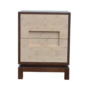 Pulo Bamboo Nightstand by Indo Puri
