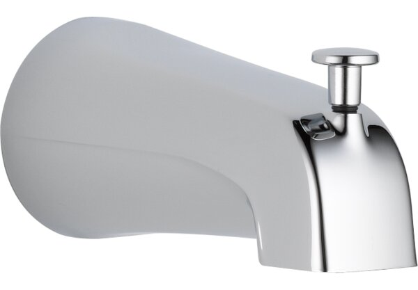 Universal Showering Components Wall Mounted Tub Spout Trim With Diverter By Delta