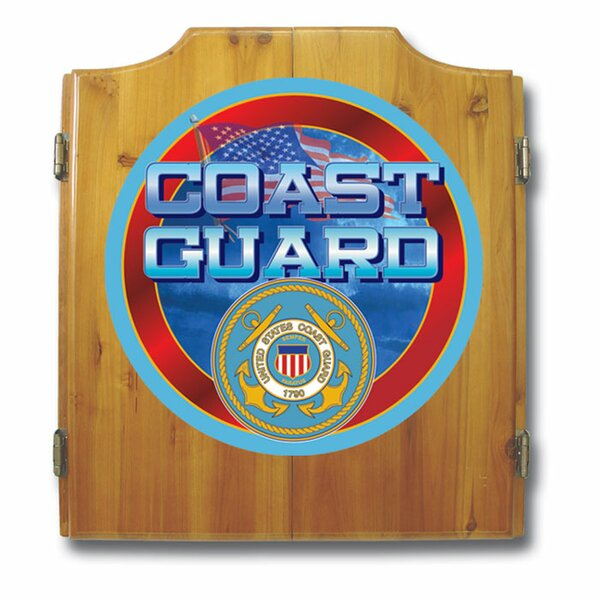 US Coast Guard Dart Cabinet Set by Trademark Global