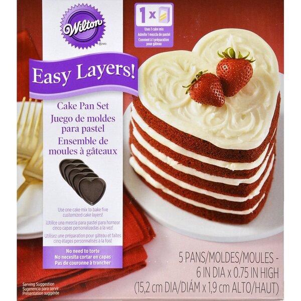 Easy Layers Non-Stick Cake Pan by Wilton