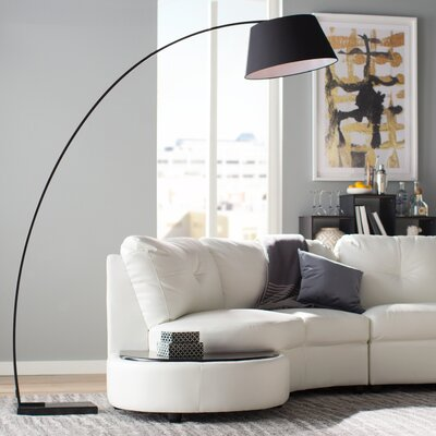Arched Black Floor Lamps You Ll Love Wayfair