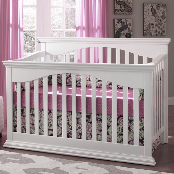 Bailey 4-in-1 Convertible Crib by Suite Bebe