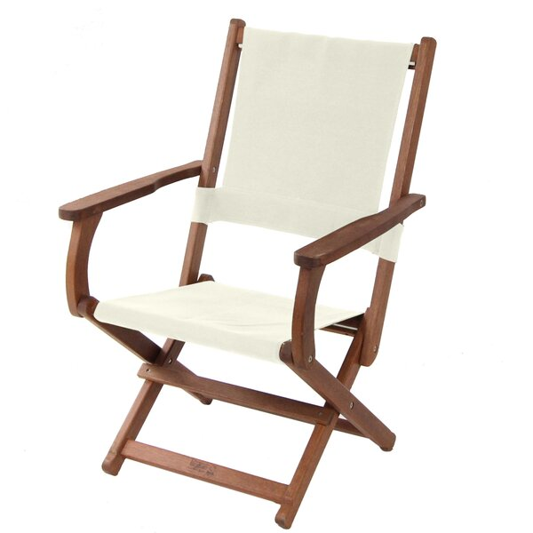 Burdette Folding Patio Dining Chair by Union Rustic
