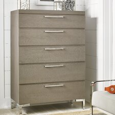 Leland 5 Drawer Chest by Harriet Bee