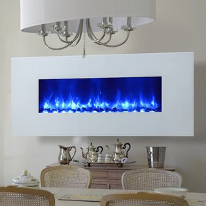 Miami LED Wall Mounted Electric Fireplace