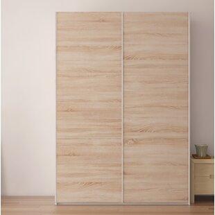 Zastrow Wardrobe Armoire With Sliding Doors