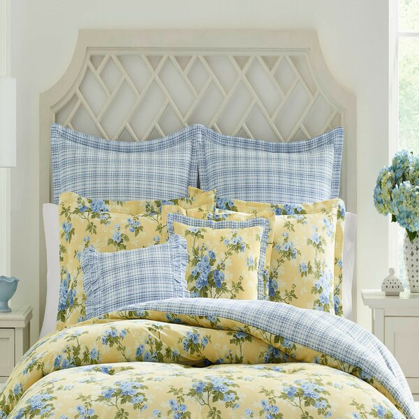 Cassidy Cotton Reversible Comforter Set by Laura Ashley Home by Laura Ashley Home