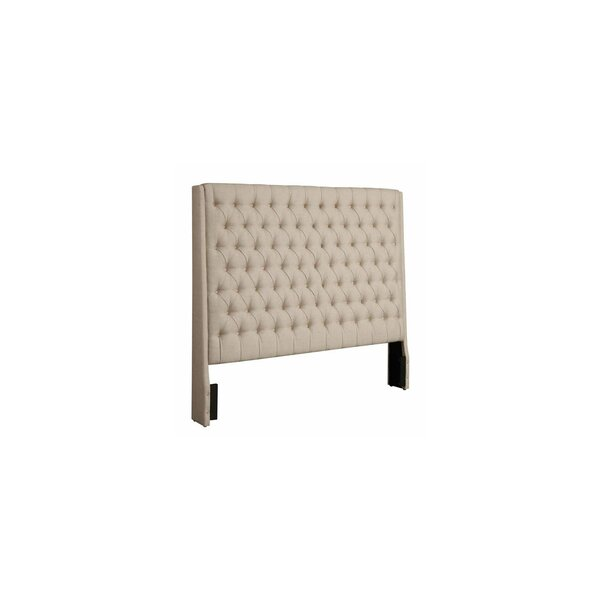 Brianne Upholstered Panel Headboard by Rosdorf Park
