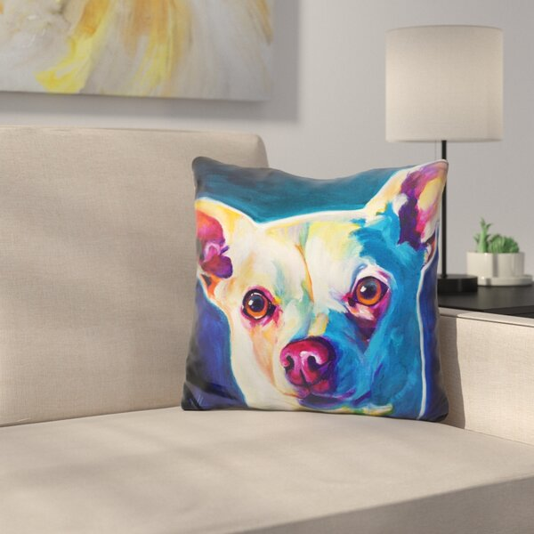 Chihuahua Coco Throw Pillow by East Urban Home