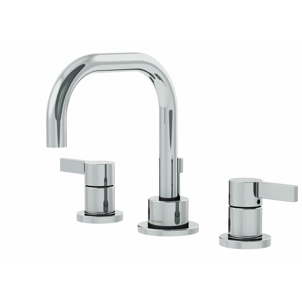Dia Widespread Standard Bathroom Faucet Double Blade Handle by Symmons