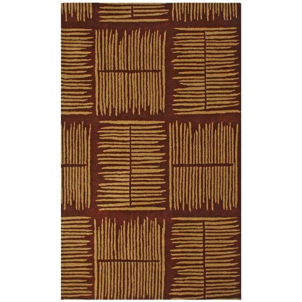 Structure Thatch Burgundy Rug by St. Croix