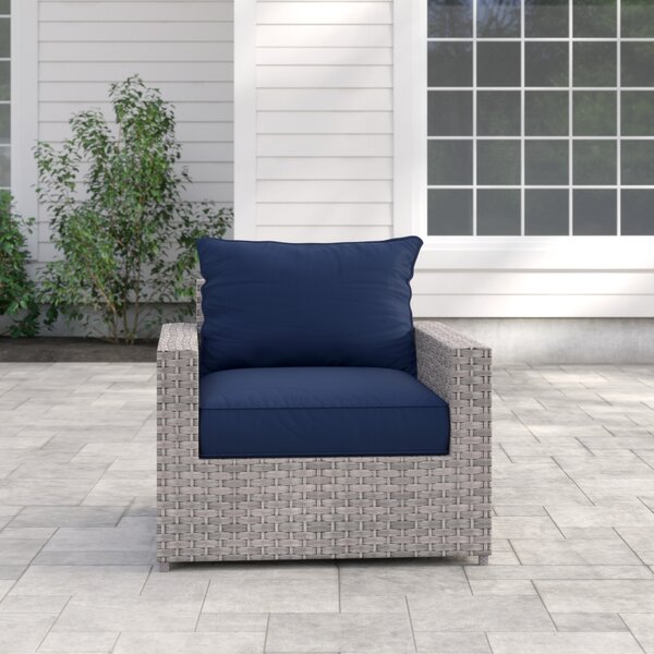 Kordell Patio Chair with Cushions by Sol 72 Outdoor Sol 72 Outdoor