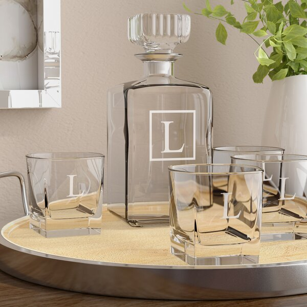 Juliet 5-Piece Beverage Serving Set by Darby Home Co
