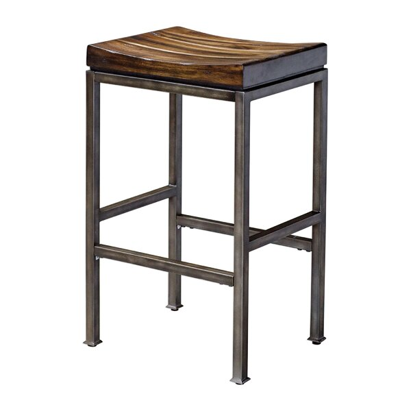 Amelia 30 Bar Stool by Gracie Oaks