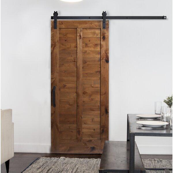 Plantation Solid Wood Interior Barn Door by Rustica Hardware