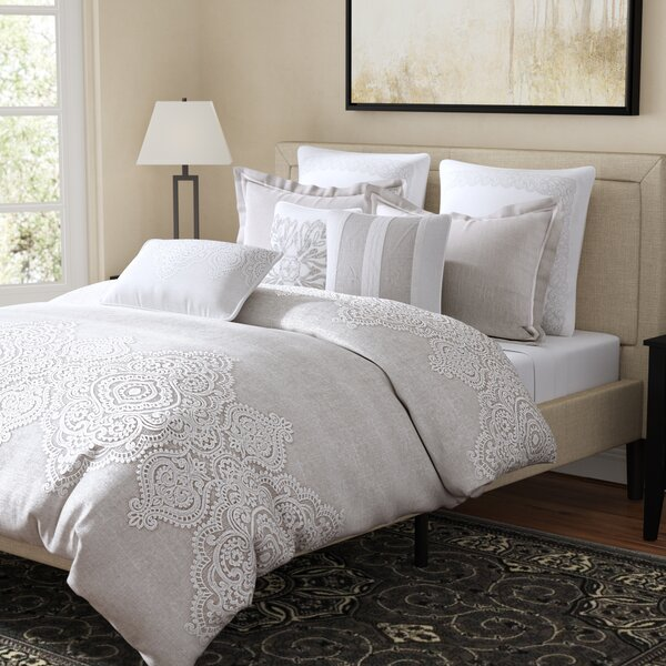 Barely There Embroidered Comforter Set