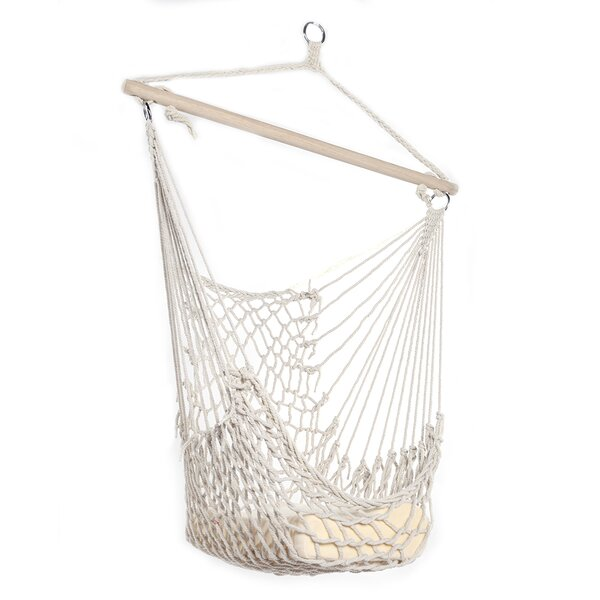 Derrygowan Hanging Swing Chair Hammock by Rosecliff Heights