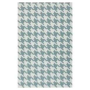 Atkins Ivory Blue Accent Rug