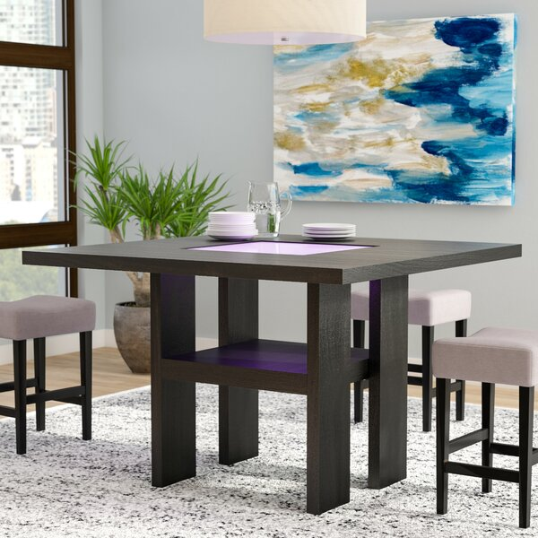 Travis Counter Height Dining Table by Latitude Run