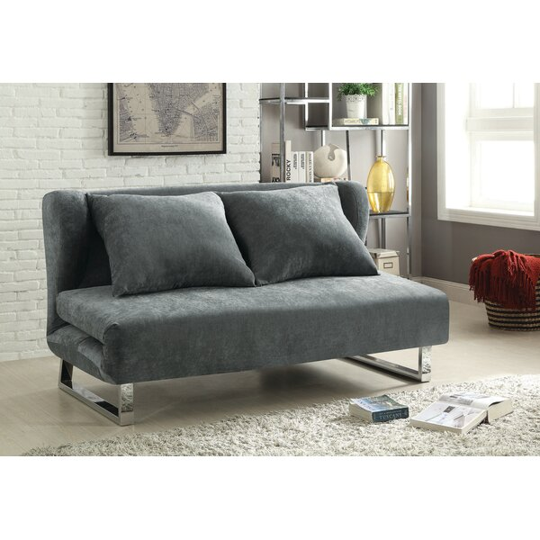 Dakota Queen Tight Back Convertible Sofa by Orren Ellis Orren Ellis