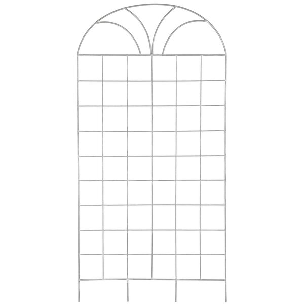 Steel Arched Trellis by Deer Park Ironworks
