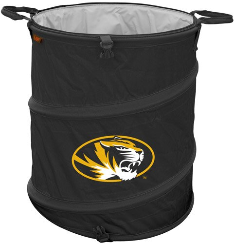 Collegiate Trash Can - Missouri by Logo Brands