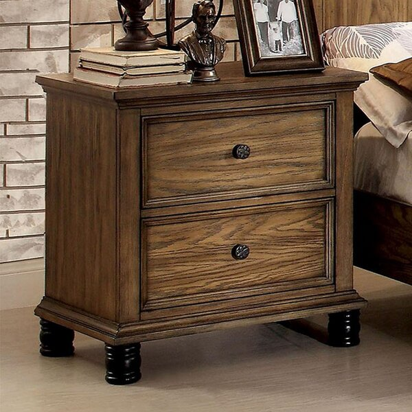 Ridgeville 2 Drawer Nightstand by Gracie Oaks