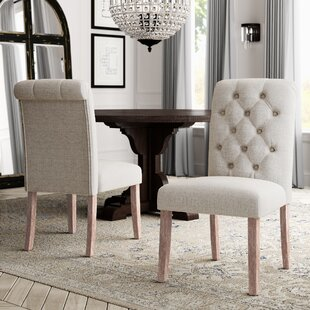 Read Reviews Malinda Upholstered Dining Chair (Set of 2) By Greyleigh
