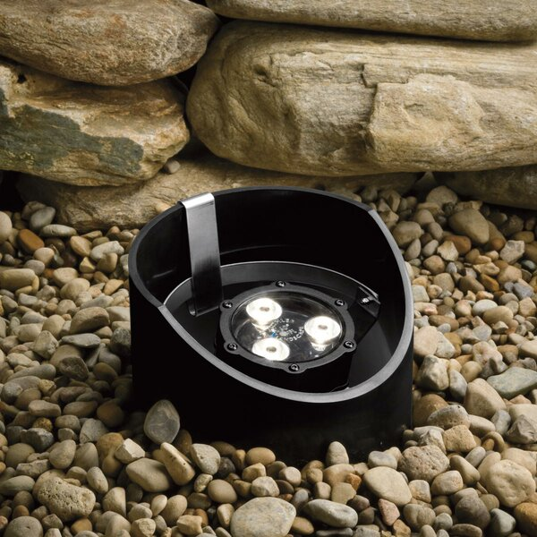 3-Light LED Well Light by Kichler