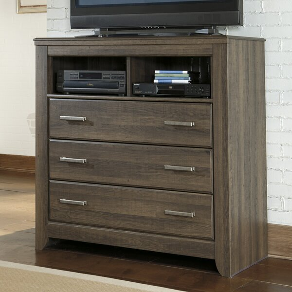 Granite Range 3 Drawer Combo Dresser by Loon Peak