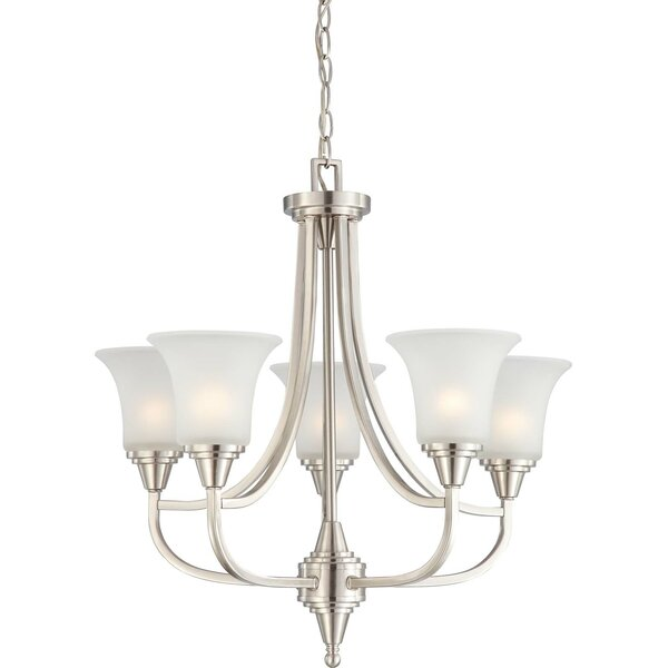 Reynal 5-Light Shaded Empire Chandelier by Charlton Home Charlton Home