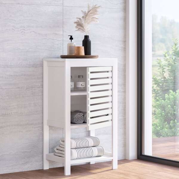 Lowther 18 W x 31.88 H 11.75 D Free-Standing Bathroom Cabinet