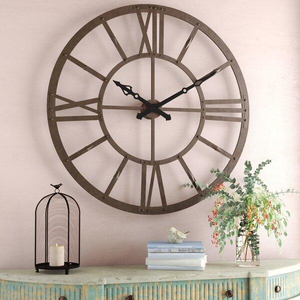 Fairplays 47.63 Metal Wall Clock by Laurel Foundry Modern Farmhouse