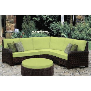 Spengler 5 Piece Sectional with Cushion By Bay Isle Home