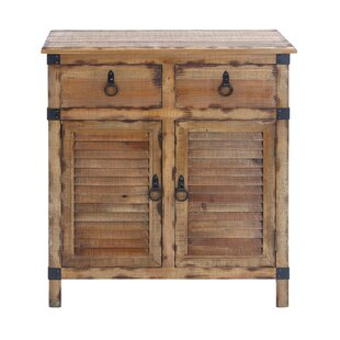 2 Door and 2 Drawer Accent Cabinet