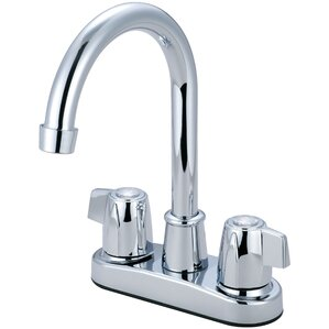 Olympia Faucets Double Handle Centerset Bar Faucet
