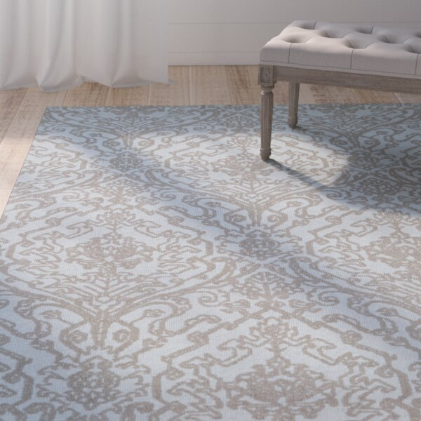 Theroux Blue Area Rug by One Allium Way