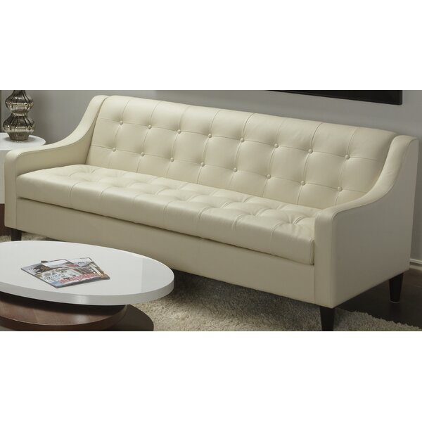 Cameo Leather Sofa by Lind Furniture