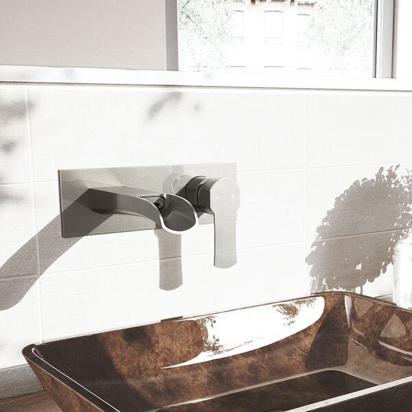 Cornelius Wall Mount Bathroom Faucet by VIGO