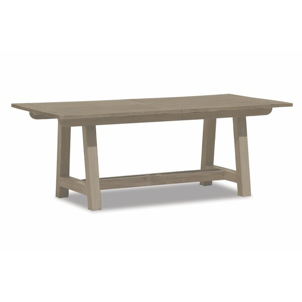 Dining Table With Leaf Extension In Coastal Teak by Sunset West