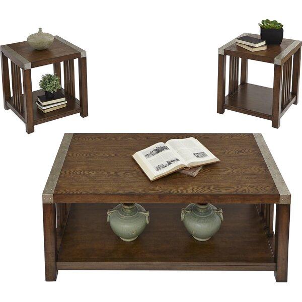 Creede 3 Piece Coffee Table Set by Loon Peak Loon Peak