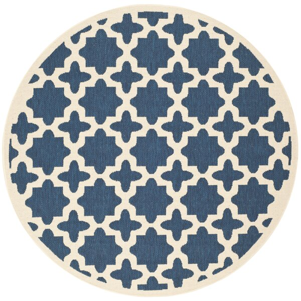 Osgood Blue Indoor/Outdoor Area Rug by Alcott Hill