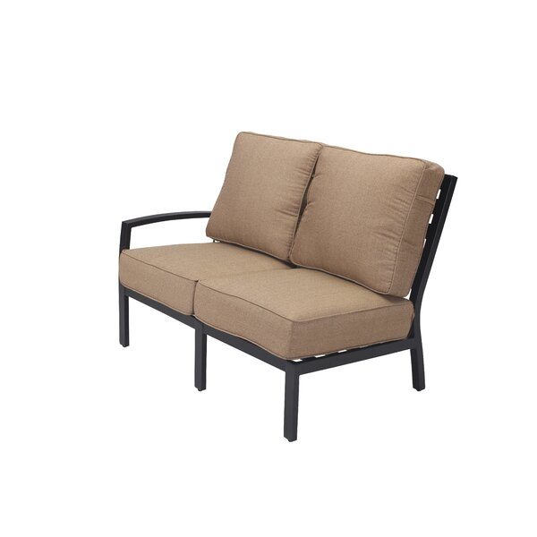 Kyree Right Arm Loveseat with Cushions by Darby Home Co
