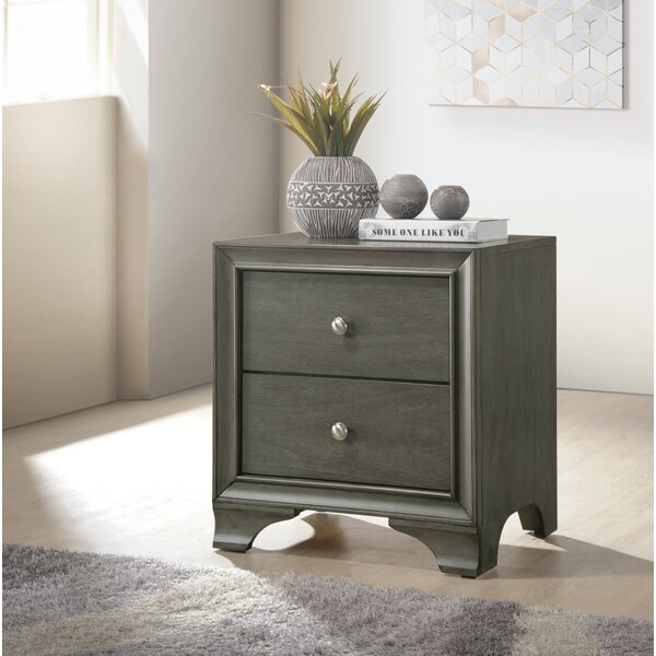 Kempton 2 Drawer Nightstand by Alcott Hill
