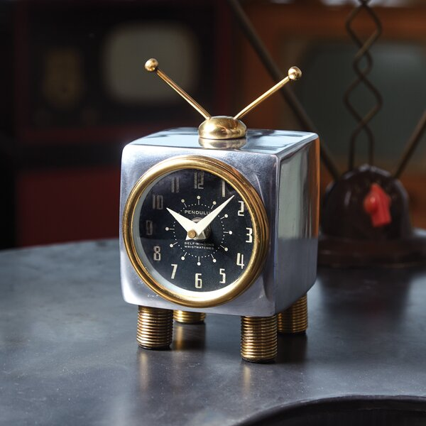 Table Clock by 17 Stories