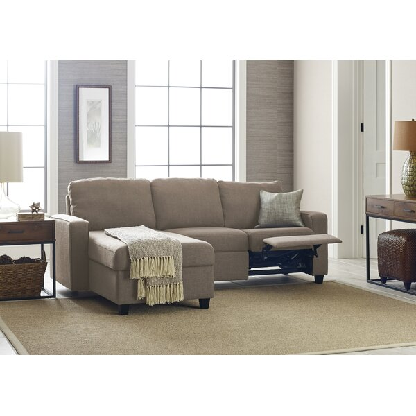 Palisades Reclining Sectional by Serta at Home