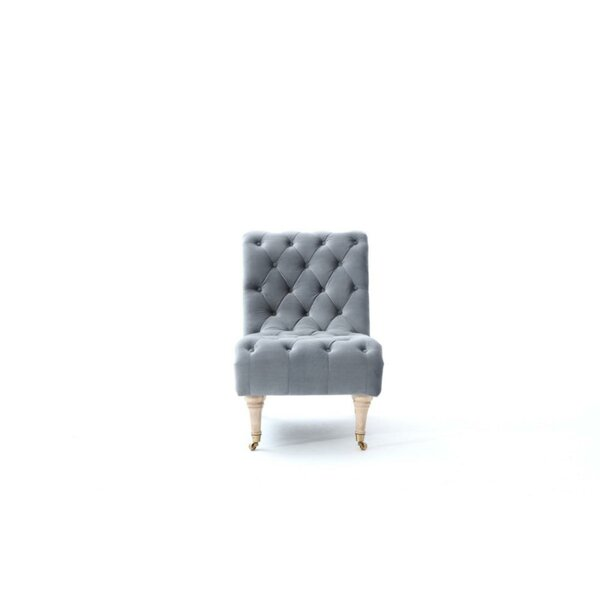 Rhea Upholstered Convertible Chair by One Allium Way